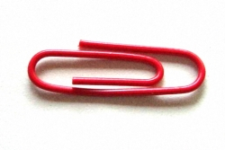 One_red_paperclip