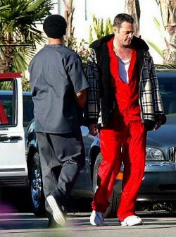 Only Vince Vaughn can rock this look...