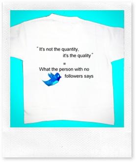 Twitter  Followers Tshirt