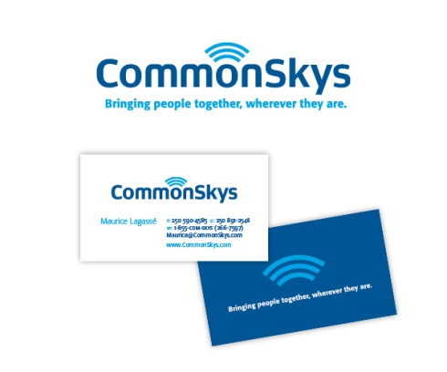 CommonSkys new name and logo