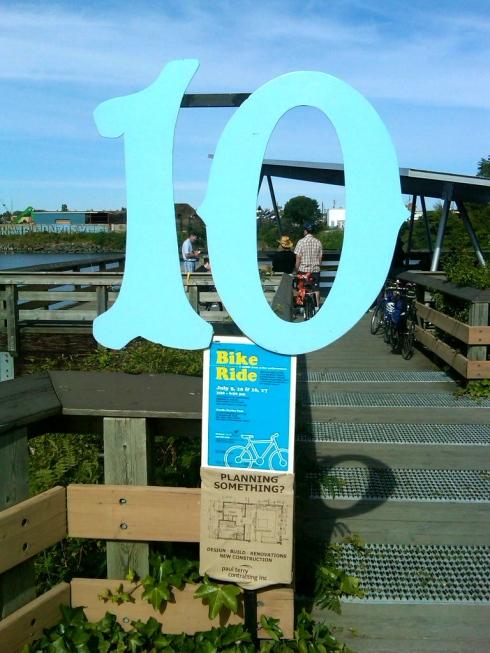 Bike Ride Circuit Station 10