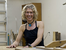 Victoria furniture designer and maker Christina Hilborne