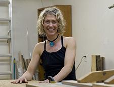 Victoria furniture designer and maker Christina Hilborne