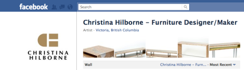 Screen shot of Christina Hilborne's Facebook page