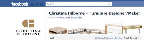 Screen shot of Christina Hilborne's Facebook page