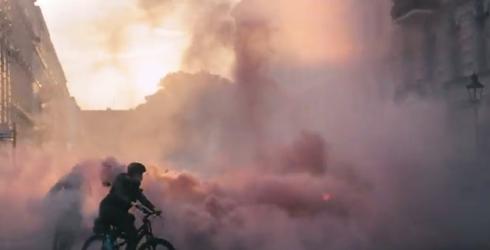 Levi's Go Forth TV ad riot scene