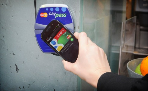 Tap and pay with Google Wallet and MasterCard PayPass