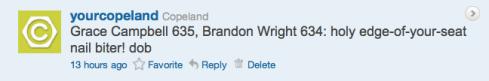 Copeland's contest tweet 12