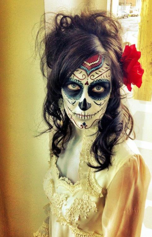 Jodie Carlisle of Copeland at Dia de los Muertos