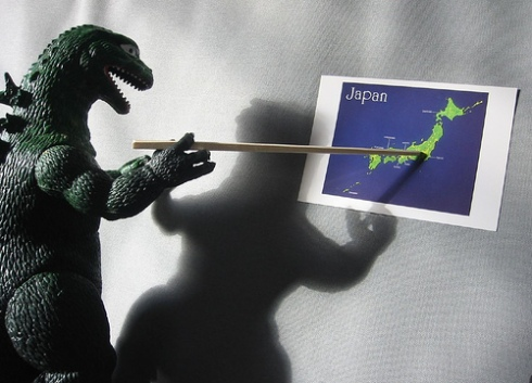 Gozilla plans to attack Tokyo