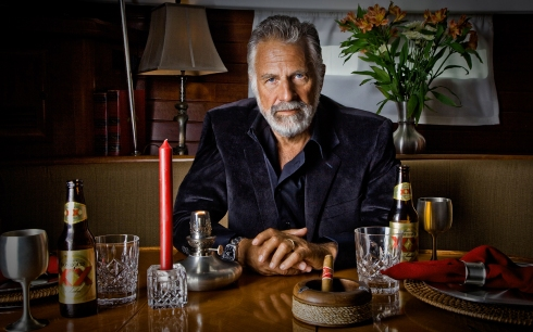 photo of the most interesting man in the world