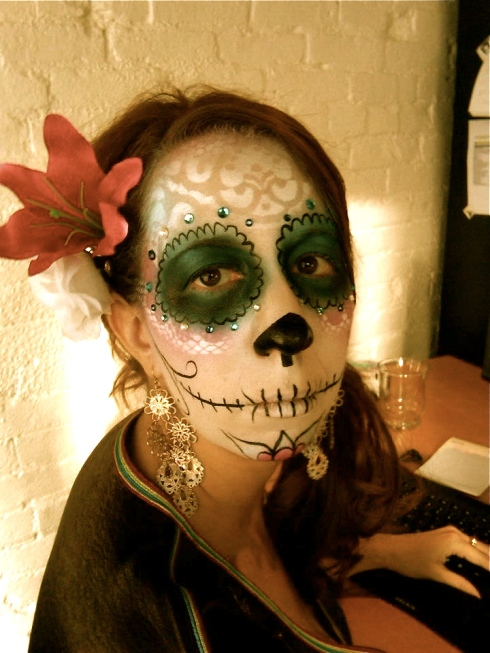Asmaa Methqal at Dia de los Muertos at Copeland