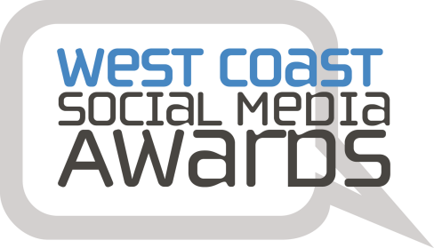 West Coast Social Media Awards logo