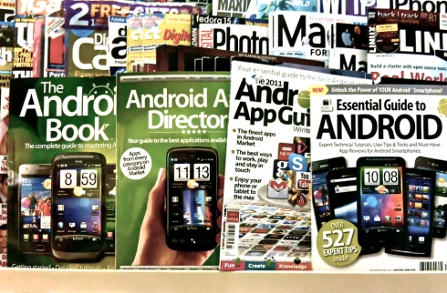 Magazines about Androids