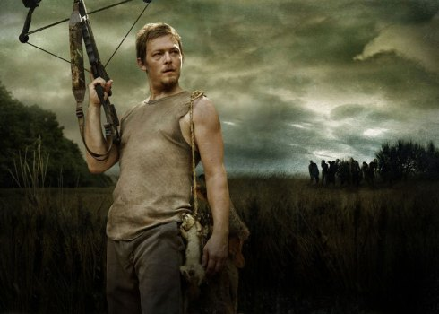 Daryl is the coolest character in The Walking Dead