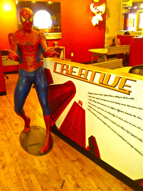 "Spiderman ""creative"" at Square1"