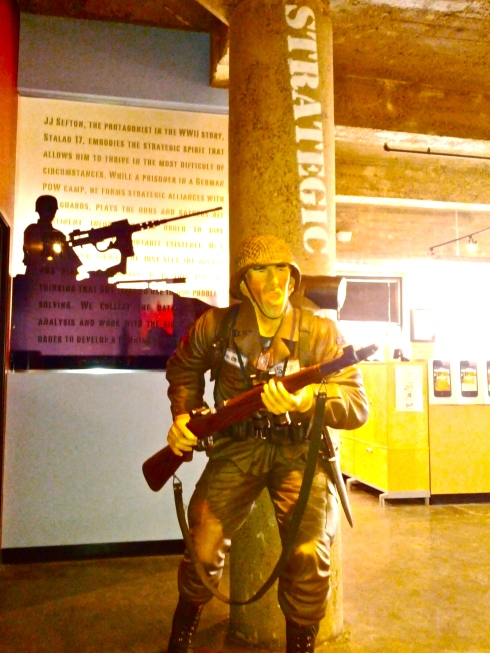 "Soldier ""strategic"" at Square1"