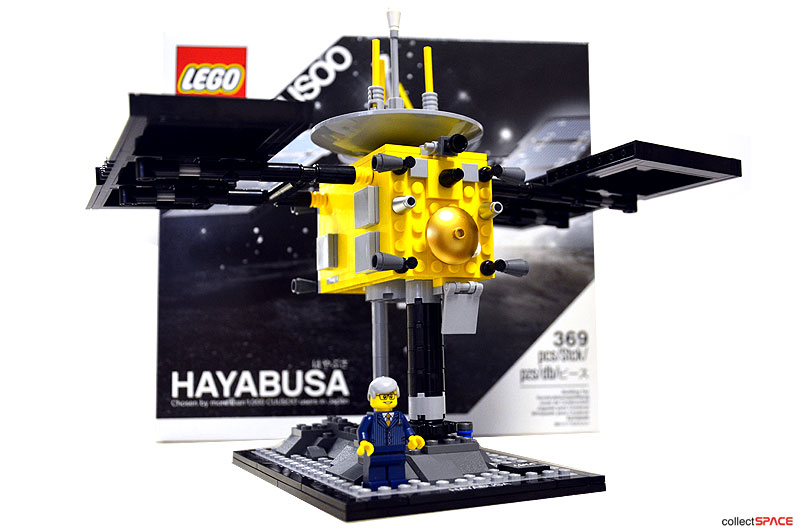 LEGO launches Hayabusa asteroid explorer